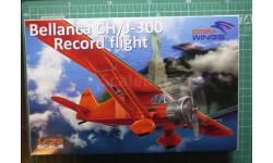 рекордный самолет Bellanca CH/J-300  (Lituanica, Cape Cod, American Legion)  1:72 Dora Wings, сборные модели авиации, 1/72