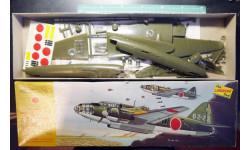 торпедоносец Mitsubishi G4M2 Betty 1:72 Lindberg