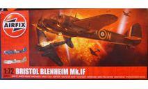 истребитель Bristol Blenheim IF 1:72 Airfix(NEW!), сборные модели авиации, scale72