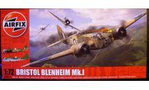 бомбардировщик Bristol Blenheim Mk I 1:72  1:72 Airfix (!!! NEW !!!), сборные модели авиации, scale72