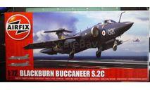 палубный бомбардировщик Blackburn Buccaneer S.2C 1:72  Airfix (NEW), сборные модели авиации, scale72