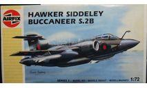 HS Buccaneer S.2 1:72  Airfix, сборные модели авиации, scale72