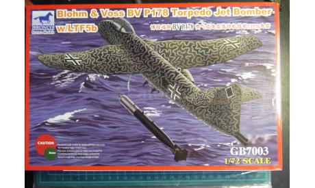 торпедоносец Блом и Фосс BV P178 1:72 Bronco, сборные модели авиации, 1/72