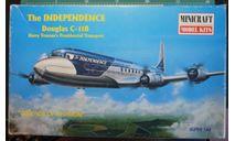 пассажирский самолет C-118A Independence 1:144 Minicraft, сборные модели авиации, scale144