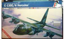 транспортный самолет C-130E/H Hercules 1:72 Italeri, сборные модели авиации, Lockheed, scale72