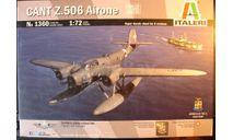 Гидросамолет CANT Z-506B Airone 1:72 Italeri, сборные модели авиации, scale72