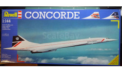 пассажирский самолет  BAe/Aeprospatiale  Concorde  1:144 Revell, сборные модели авиации, scale144