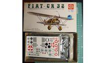 истребитель Fiat CR.32 Chirri 1:72 Supermodel, сборные модели авиации, scale72