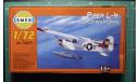 Поплавковый гидросамолет Piper L-4  Cub 1:72 Smer, сборные модели авиации, scale72