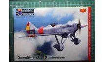истребитель Dewoitine D510 'international' +бонус 1:72 KP (!!!NEW!!!), сборные модели авиации, scale72