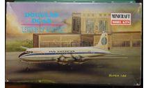пассажирский самолет DC-6B Pan American 1:144 Minicraft, сборные модели авиации, scale144