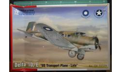 транспортный самолет Northrop Delta 1D/E 1:72 Special Hobby, сборные модели авиации, 1/72