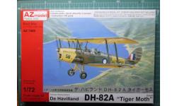 учебный самолет DH-82A Tiger Moth (Австралия) 1:72 AZ model
