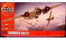 бомбардировщик Дорнье Do 17Z 1:72 Airfix (NEW!), сборные модели авиации, scale72