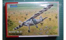 легкий самолет Дорнье Do 27 (гражданский) 1:72 Special Hobby, сборные модели авиации, 1/72