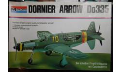 Истребитель Dornier Do 335A 1:48 Monogram, сборные модели авиации, 1/48