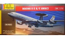 Самолет ДРЛО E-3A AWACS  1:72 Heller, сборные модели авиации, Boeing, scale72