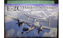 самолет ДРЛО E-2C Hawkeye 1:72  Fujimi, сборные модели авиации, Heller, scale72
