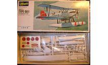 гидросамолет Kawanishi E7K1 Alf 1:72 Hasegawa, сборные модели авиации, 1/72