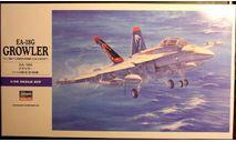 ударный самолет EA-18G Growler  1:72 Hasegawa, сборные модели авиации, scale72