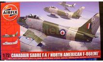 North American F-86E (M) Canadaire F.4 Sabre1:72 Airfix (NEW), сборные модели авиации, scale72