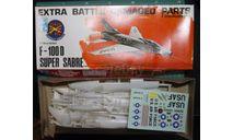 истребитель-бомбардировщик F-100D Super Sabre с повреждениями   1:72 IMC, сборные модели авиации, scale72