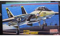 Палубный истребитель F-14A Tomcat 1:72 FineMolds, сборные модели авиации, scale72