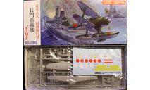 гидросамолет Mitsubishi F1M2 Pete 1:72 Fujimi, сборные модели авиации, scale72