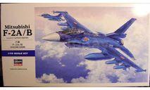 истребитель-бомбардировщик Mitsubishi F-2A/B 1:72 Hasegawa, сборные модели авиации, scale72