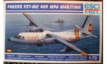 патрульный самолет Fokker F.27 Mk400 MPA 1:72 ESCI, сборные модели авиации, scale72