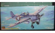 истребитель Grumman F4F-4 Wildcat 1:72 Hasegawa, сборные модели авиации, scale72