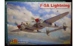разведчик Lightning F-5A 1:72 RS models