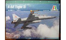 учебный истребитель F-5F Tiger II 1:72 Italeri, сборные модели авиации, scale72
