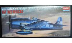 палубный истребитель F6F-3/5 Hellcat 1:72 Academy, сборные модели авиации, 1/72