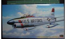 ночной перехватчик F-86D Sabredog 1:72 Hasegawa, сборные модели авиации, 1/72
