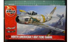 North American Sabre F-86F/E(M) Sabre (Korea war) 1:72 Airfix (!!!NEW!!!), сборные модели авиации, 1/72