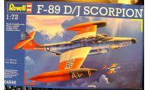 перехватчик F-89D/J Scorpion 1:72 Revell, сборные модели авиации, scale72