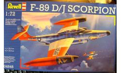 перехватчик F-89D/J Scorpion 1:72 Revell