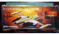 всепогодный перехватчик F-94B Starfire 1:72 Heller