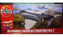 истребитель Phantom FGR2 1:72 Airfix (NEW), сборные модели авиации, 1/72