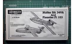 перехватчик Bachem Natter Ba349A + Fi-103 Reichenberg 1:72 Encore/Heller