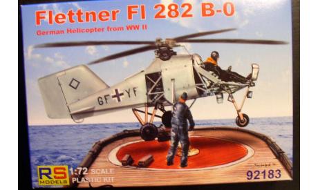 вертолет Flettner  Fl 282B-0 1:72  RS models, сборные модели авиации, scale72