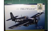истребитель Grumman Wildcat FM-2 1:72 Arma Hobby, сборные модели авиации, ArmaHobby, scale72