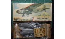 Пассажирский самолет Ford 5AT Trimotor 1:72 Airfix, сборные модели авиации, scale72