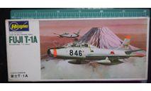 Учебный самолет Fuji T-1A 1:72 Hasegawa, сборные модели авиации, scale72