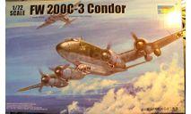 Морской разведчик FW 200C-3 Condor 1:72 Trumpeter, сборные модели авиации, scale72