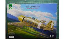 Истребитель FIAT G.50bis/AS Freccia 1:72 Fly, сборные модели авиации, scale72