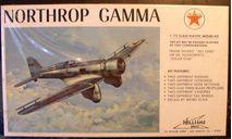 Northrop Gamma 1:72 Williams brothers, сборные модели авиации, scale72