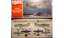 противолодочный самолет Fairey Gannet 1:72 FROG