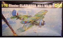 Истребитель Gloster Gladiator  Mk I/MkII  1:72 Heller, сборные модели авиации, scale72